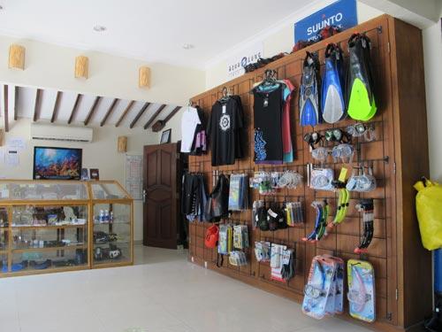Dive Retail Shop