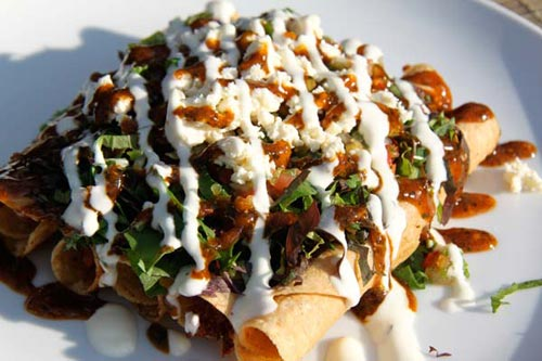 Delicious Mexican food at Trawangan Dive restaurant