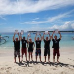 PADI IDC Candidates on completion of the course