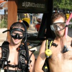 PADI Instrucor candidates at the start of their course