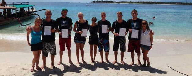 New PADI Open Water Scuba Instructor and PADI IDC Staff Instructors
