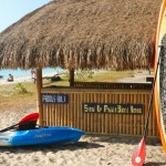 Hire a stand up paddleboard or kayak