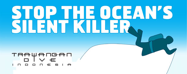 Dive against Debris with Trawangan Dive on the Gili islands